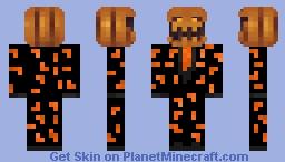 Jack Gourdon Fortnite skin Minecraft Skin