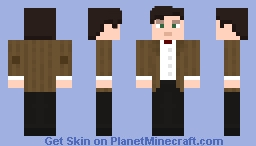 The Eleventh Doctor - Serie 6 N°1 Minecraft Skin