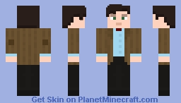 The Eleventh Doctor - Serie 7A Minecraft Skin
