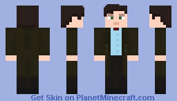 The Eleventh Doctor - Serie 6 N°2 Minecraft Skin