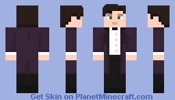 "The Eleventh Doctor - in ""The Bells of St John"" Minecraft Skin"