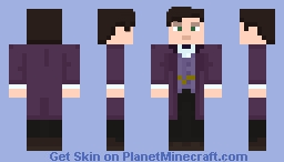 "The Eleventh Doctor - in ""The Rings of Akathen"" Minecraft Skin"