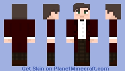 "The Eleventh Doctor - in ""The Time Of The Doctor"" N°2 Minecraft Skin"