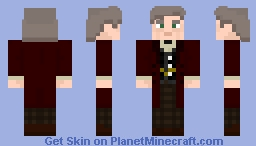 "The Eleventh Doctor - in ""The Time Of The Doctor"" N°3 Minecraft Skin"