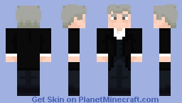 "The Twelfth Doctor - in ""Hell Bent"" Minecraft Skin"