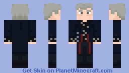 "The Twelfth Doctor - in ""Listen and ""In The Forest Of The Night"" Minecraft Skin"