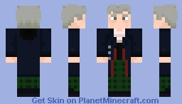 "The Twelfth Doctor - in ""The Girl who died"" Minecraft Skin"