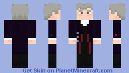 """The Twelfth Doctor - in """"The Hubsand of River Song"""" Minecraft Skin"""
