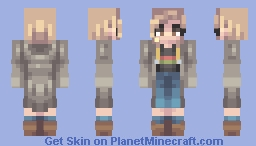 ℒℰΔ ☪ 13th doctor (Request) Minecraft Skin