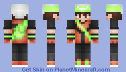Brendan Pokemon Emerald Trainer Minecraft Skin