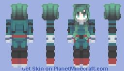 『ᴀᴍɪ』- BNHA Deku Female Minecraft Skin