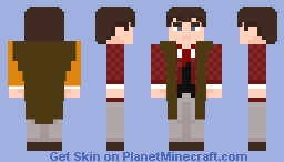 "The Fourth Doctor - in ""The Talons of Weng-Chiang"" Minecraft Skin"