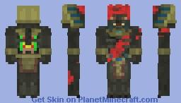 Bloody Mummy Minecraft Skin