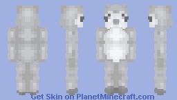 Iron Penguin Minecraft Skin