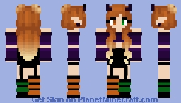 Omber - Halloween - Minecraft Skin