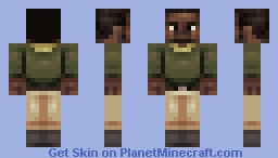 unfinished Minecraft Skin