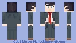 Adachi [Persona 4] Minecraft Skin