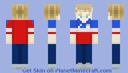 Sports shirt guy Minecraft Skin