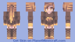 ℒℰΔ ☪ Breaded chicken Minecraft Skin