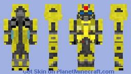 Bumblebee (2018) Minecraft Skin