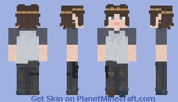 Carl Grimes | The Walking Dead | After Minecraft Skin