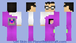 Do Blobs Dream of Jell-O Molds? Minecraft Skin