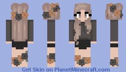 Halloween - Fall - Flower Feet Minecraft Skin