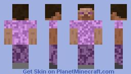 Ender Stevie Minecraft Skin