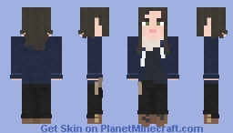 Enid || The Walking Dead || The Other Side Minecraft Skin