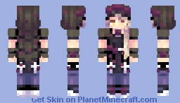 [Kari] Funeral of Roses || OC Minecraft Skin