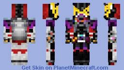 Kamen Rider Geiz Genm Armor 仮面ライダーゲイツゲンムアーマー Minecraft Skin
