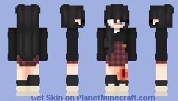 Girlie girl Minecraft Skin
