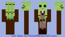 Kit Fisto - Star Wars: Attack of the Clones Minecraft Skin