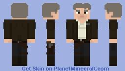 Han Solo - Star Wars: The Force Awakens Minecraft Skin