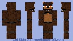 Unwitherd Nightmare Freddy Minecraft Skin