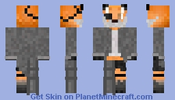 The Creator (Foxein Labcoat) Minecraft Skin