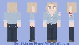 Laurie Strode || Halloween || 1978 Minecraft Skin
