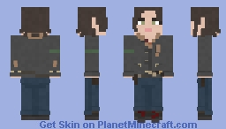 Maggie Rhee | The Walking Dead | Mercy Minecraft Skin