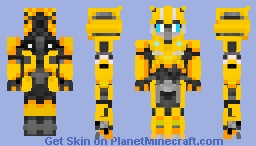 Bumblebee form Bumblebee movie! Minecraft Skin