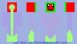 Pvz 2 Sunflower Minecraft Skin