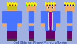 King (Blue Robe) Minecraft Skin