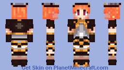 Chika Takami Twilight Tiger Minecraft Skin