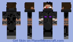 Earthknite - Shadow-Dragon Ninja Minecraft Skin