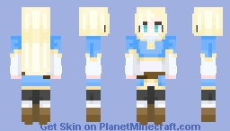 Breath of the wild - Zelda Minecraft Skin
