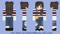 Overall Girl Minecraft Skin
