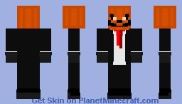 Jack O' Lantern Minecraft Skin