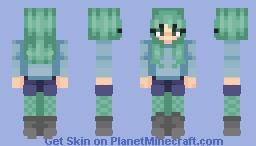Green stuffz [Elven Jedi's Skintober 2018] Minecraft
