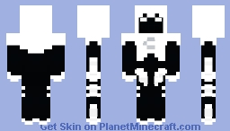 Moon Knight No Cape Minecraft Skin