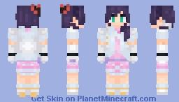 Nozomi Tojo Snow Halation Minecraft Skin