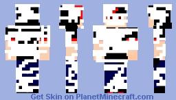 A Toilet Paper Mummy Minecraft Skin